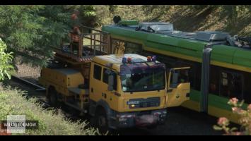 """Uszkodzenie sieci trakcyjnej MPK. Uruchomiono """"autobusy za tramwaj"""""""