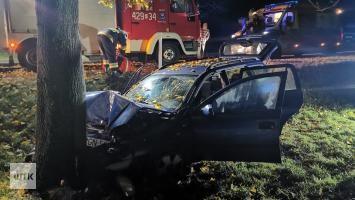 Dramatyczny wypadek w okolicach Gniezna! [zdjęcia]