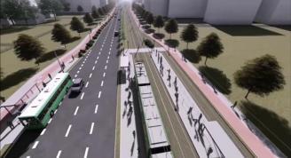 Wilczak bez tramwaju, rusza budowa trasy na Naramowice