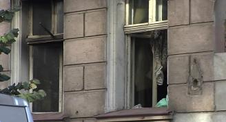 Tragedia na Wildzie. W pożarze zginęła 59-letnia mieszkanka kamienicy przy ul. Prądzyńskiego.