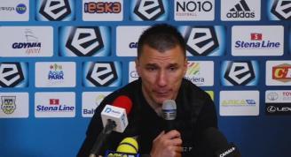 Ivan Djurdjević po meczu z Arką